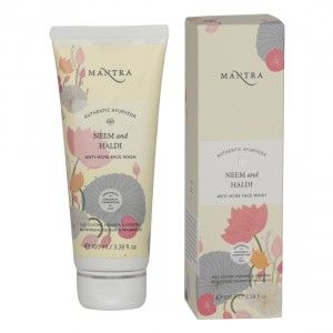 Buy Mantra Neem & Haldi Anti-Acne Face Wash - Nykaa
