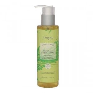 Buy Mantra Henna And Citrus Lemon Conditioning Hair Cleanser For Dull & Dry Hair - Nykaa