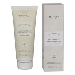 Buy Mantra Wheatgerm & Mandarin Orange Hand & Feet Cream - Nykaa