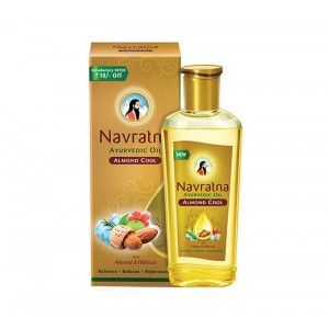 Buy Navratna Almond Cool Oil (Rs.10 Off) - Nykaa