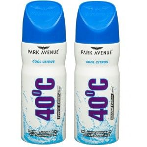 Buy Park Avenue 40 Degree Cool Citrus Buy 1 Get 1 Free - Nykaa