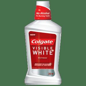 Buy Colgate Plax Visible White Mouthwash - Nykaa