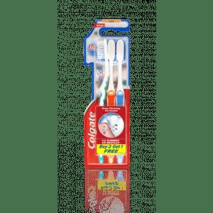 Buy Colgate Slim Soft Toothbrush Buy 2 Get 1 Free - Nykaa