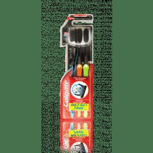 Buy Colgate Slim Soft Charcoal Toothbrush Buy 2 Get 1 Free - Nykaa