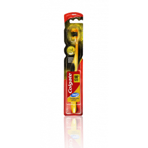 Buy Colgate 360 Charcoal Gold Toothbrush - Nykaa