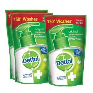 Buy Dettol Original Liquid Hand Wash (175 ml)(Buy 2 Get 1 Free)(Off Rs.54) - Nykaa