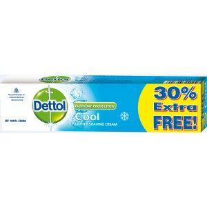 Buy Dettol Shaving Cream Cool 30% Extra Free - Nykaa
