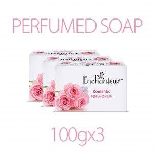 Buy Enchanteur Romantic Perfumed Soap (Pack Of 3) (Rs.15 Off) - Nykaa