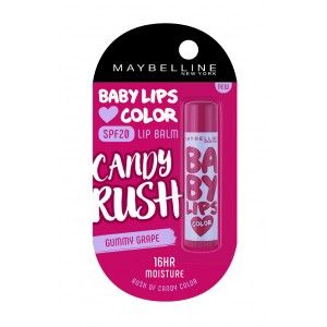 Buy Maybelline New York Baby Lips Color Candy Rush Lip Balm - Nykaa