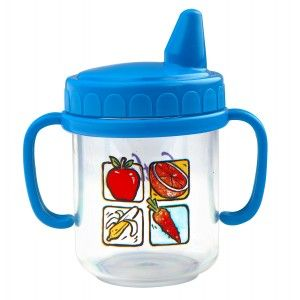 Buy Little's Non-Spill Magic Cup (Blue) - Nykaa