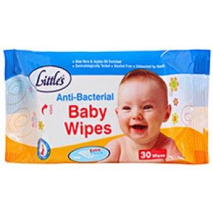 Buy Little's Baby Wipes (30 Sheets) - Nykaa
