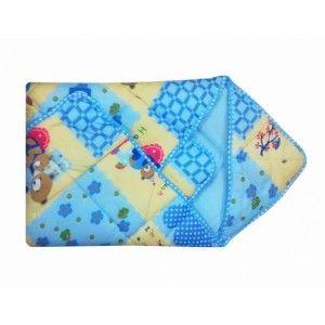 Buy Littles Dry Robe - Blue - Nykaa