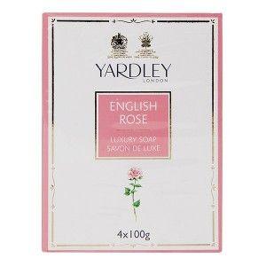 Buy Yardley English Rose Bathing Soap (Pack of 4) - Nykaa