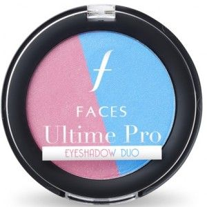 Buy Faces Ultime Pro Eye Shadow Duo - Rose Quartz & Serenity - Nykaa