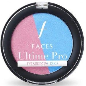 Buy Faces Ultime Pro Eye Shadow Duo - Rose Quartz & Serenity - Nykaa