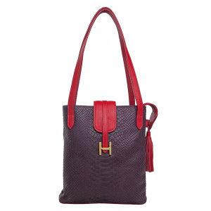 Buy Hidesign Sb Silvia 01 Purple Shoulder Bag - Nykaa