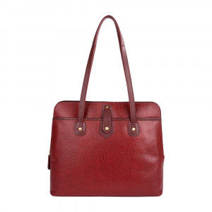 Buy Hidesign Hong Kong 02 Sb Red Shoulder Bag - Nykaa