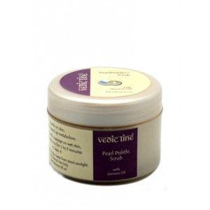 Buy Vedic Line Pearl Pishthi Scrub With Jasmine Oil - Nykaa