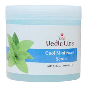 Buy Vedic Line Cool Mint Foam Scrub - Nykaa