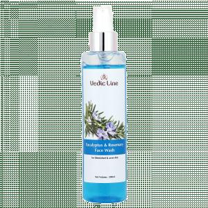 Buy Vedic Line Eucalyptus & Rosemary Face Wash - Nykaa