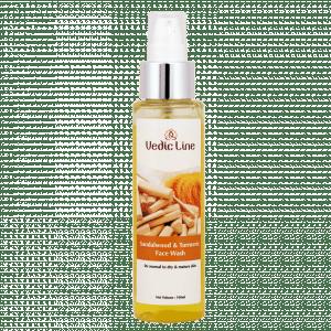 Buy Vedic Line Sandalwood & Turmeric Face Wash - Nykaa