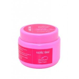 Buy Vedic Line OnGlow Face Foam Cleanser & Exfoliant - Nykaa