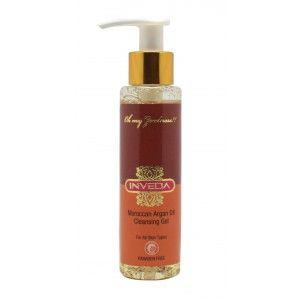 Buy Inveda Moroccan Argan Oil Cleansing Gel - Nykaa