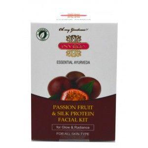 Buy Inveda Passion Fruit & Silk Protein Facial Kit - Nykaa