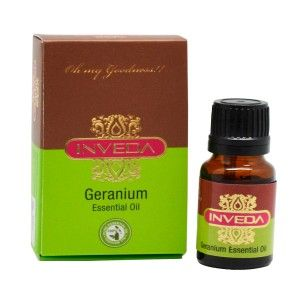 Buy Inveda Geranium Essential Oil - Nykaa