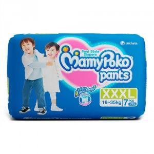 Buy MamyPoko Pants Diapers - XXL (7 Pieces) - Nykaa
