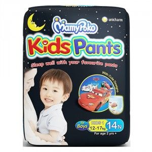 Buy MamyPoko Kids Pants Diapers For Boys (2yrs) - 14 Pieces - Nykaa