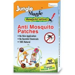 Buy Jungle Magic Mosquito Tattooz - 30 Patches - Nykaa