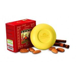 Buy Anuspa Shahi Sandal With Almond Oil Soap - Nykaa