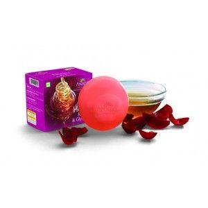 Buy Anuspa Honey Rose & Glycerine Soap - Nykaa