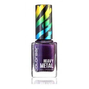 Buy Colorbar Heavy Metal Nail Lacquer - Nykaa