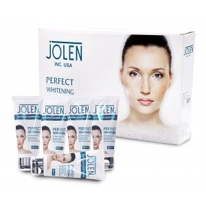 Buy Jolen Perfect Whitening Glow Facial Kit - Tube (Save Rs.150/-) - Nykaa