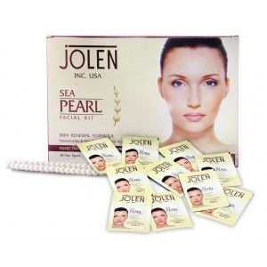 Buy Jolen Sea Pearl Facial Kit - Pouch (Save Rs.200) - Nykaa