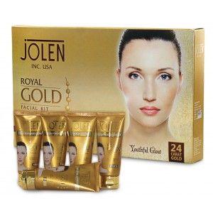 Buy Jolen Royal Gold Facial Kit - Tube (Save Rs.250) - Nykaa