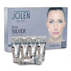 Buy Jolen Real Silver Facial Kit - Tube (Save Rs. 150/-) - Nykaa