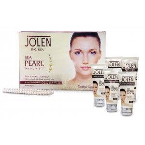 Buy Jolen Sea Pearl Facial Kit - Tube (Save Rs.150) - Nykaa