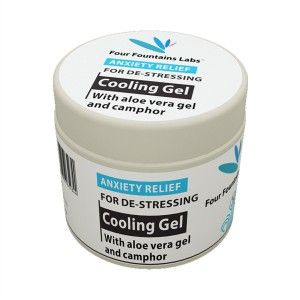 Buy Four Fountains Labs Cooling Gel for De-Stressing - Nykaa