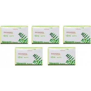 Buy Patanjali Neem Kanti Body Cleanser (Pack Of 5) - Nykaa