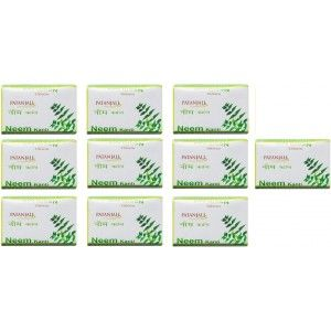 Buy Patanjali Neem Kanti Body Cleanser (Pack Of 10) - Nykaa