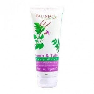 Buy Patanjali Neem and Tulsi Face Wash - Nykaa
