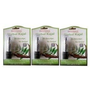 Buy Patanjali Herbal Kajal (Pack Of 3) - Nykaa