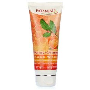 Buy Patanjali Orange Honey Face Wash - Nykaa