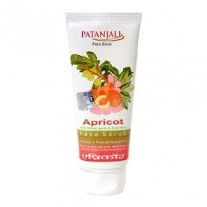 Buy Patanjali Aloevera Apricot Scrub Tube - Nykaa