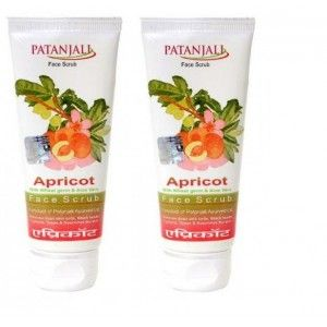 Buy Patanjali Aloevera Apricot Scrub Tube (Pack of 2) - Nykaa