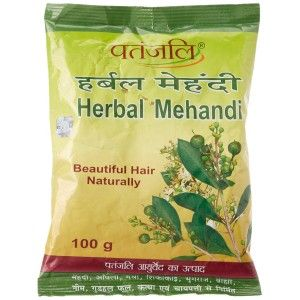 Buy Patanjali Herbal Mehandi - Nykaa