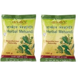 Buy Patanjali Herbal Mehandi (Pack Of 2) - Nykaa